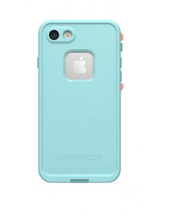 LifeProof - 7756790 Fre iPhone 8/7 Wipeout (Coral/Blue)