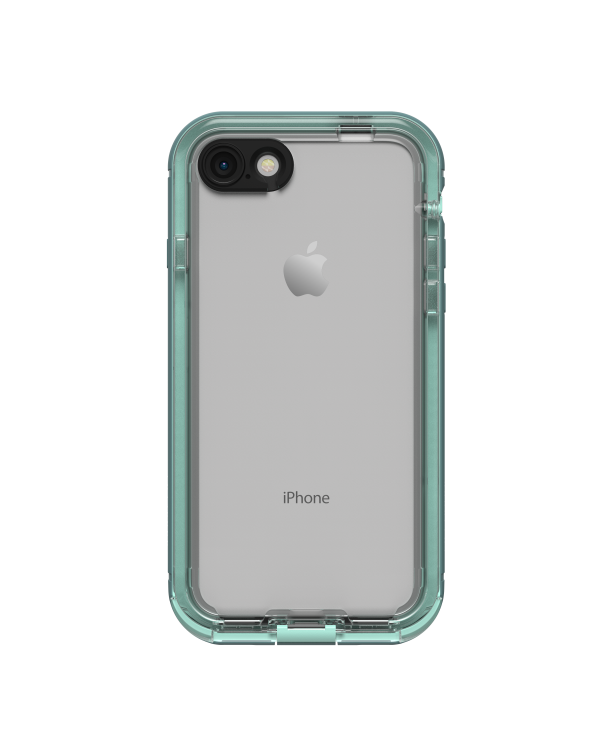 LifeProof - Nuud Case Aqua/Clear for iPhone 8/ iPhone 7