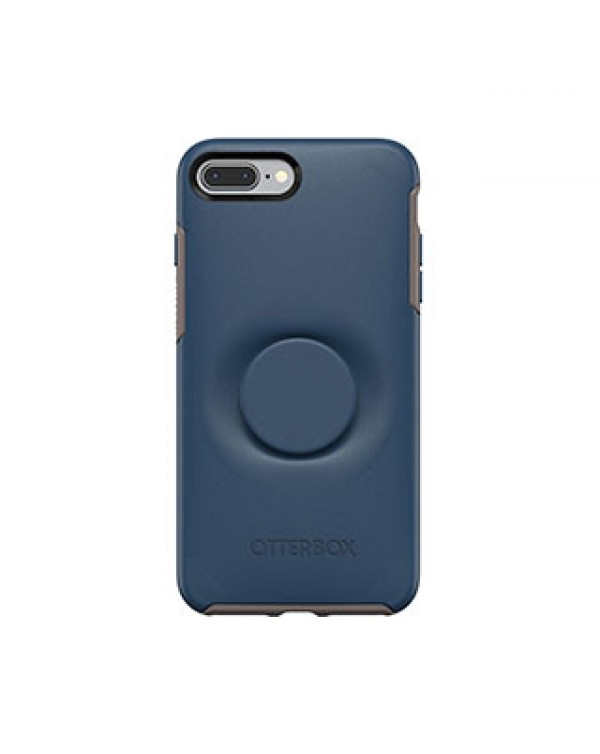 iPhone 8 Plus/7 Plus Otterbox + POP Blue/Blue (Go to Blue) Symmetry Series Case
