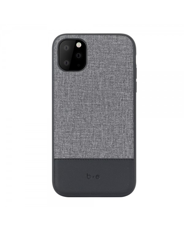 Blu Element - Chic Collection Case Gray/Black for iPhone 11 Pro Max