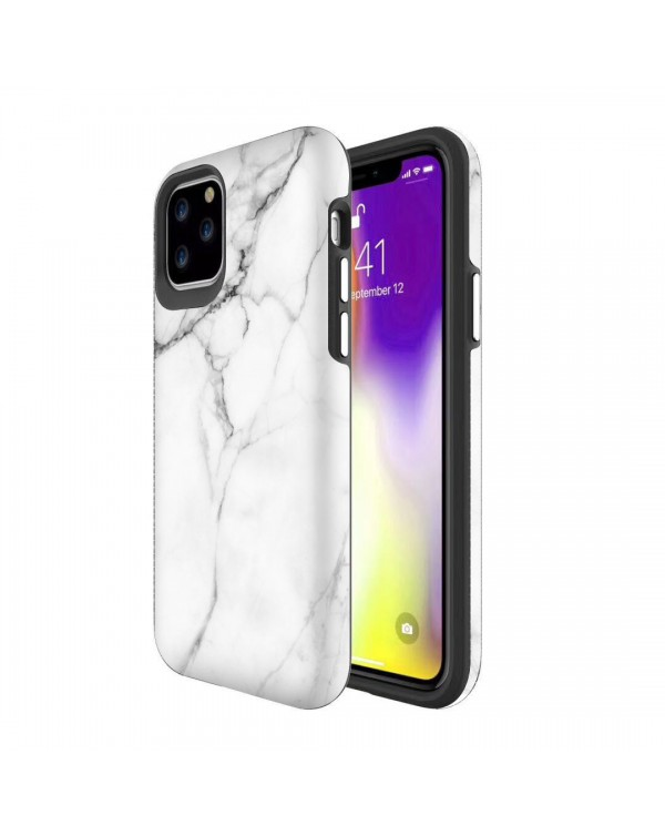 Blu Element - Mist 2X Fashion Case White Marble for iPhone 11 Pro Max