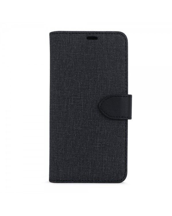 Blu Element - 2 in 1 Folio Case Black/Black for iPhone 11