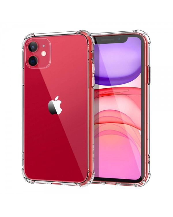 Blu Element - DropZone Rugged Case Clear for iPhone 11