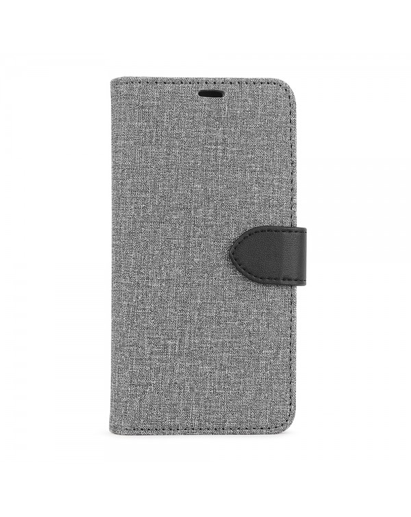 Blu Element - 2 in 1 Folio Case Gray/Black for iPhone 11