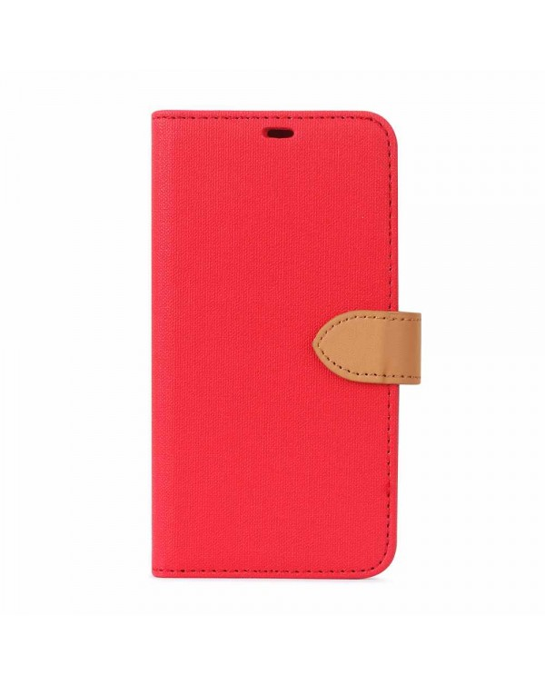 Blu Element - 2 in 1 Folio Case Red/Butterum for iPhone 11