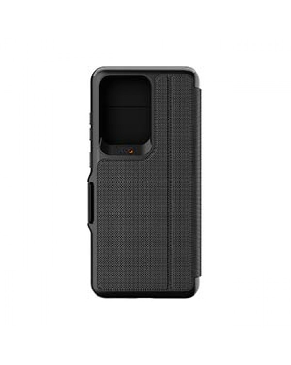 Samsung Galaxy S20 Ultra Gear4 D3O Black Oxford Eco Folio Case