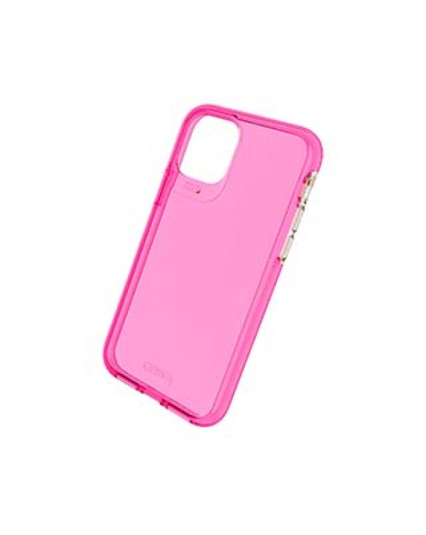 iPhone 11 Pro Gear4 D3O Pink Crystal Palace Neon Case