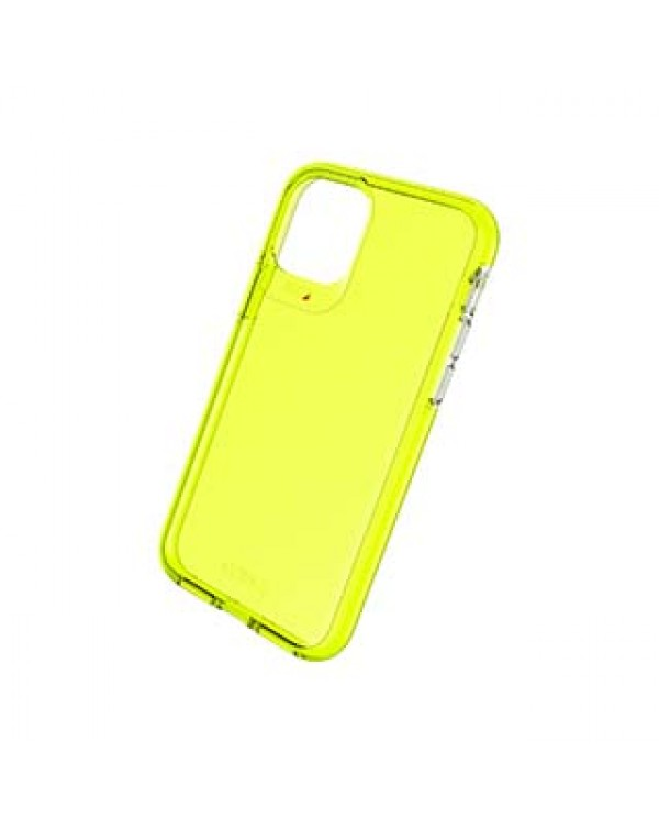 iPhone 11 Pro Gear4 D3O Yellow Crystal Palace Neon Case