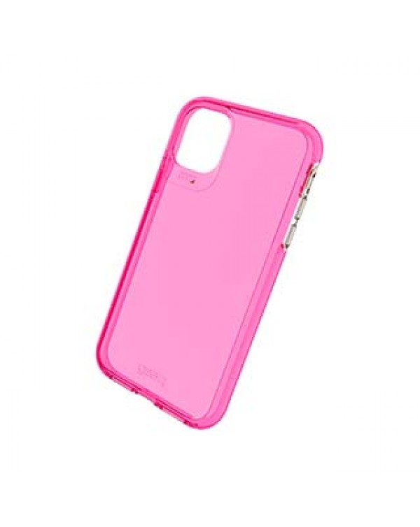 iPhone 11 Gear4 D3O Pink Crystal Palace Neon Case