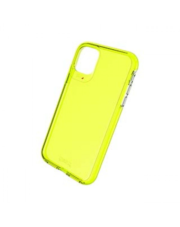 iPhone 11 Gear4 D3O Yellow Crystal Palace Neon Case