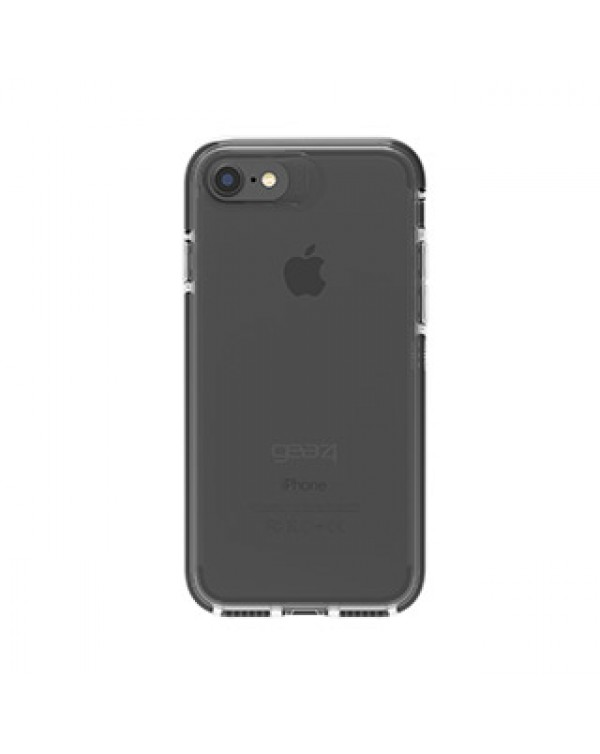 iPhone 8/7/6S/6 Gear4 D3O Clear/Black Piccadilly case