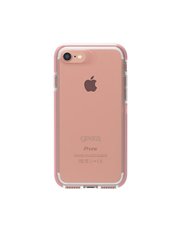 iPhone 8/7/6S/6 Gear4 D3O Clear/Rose Gold Piccadilly case