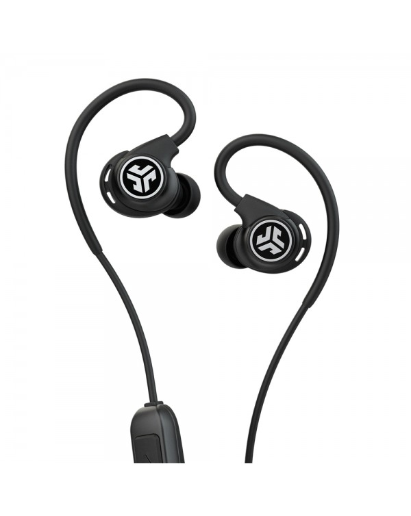 JLab Audio - Fit Sport Wireless Earbuds Black