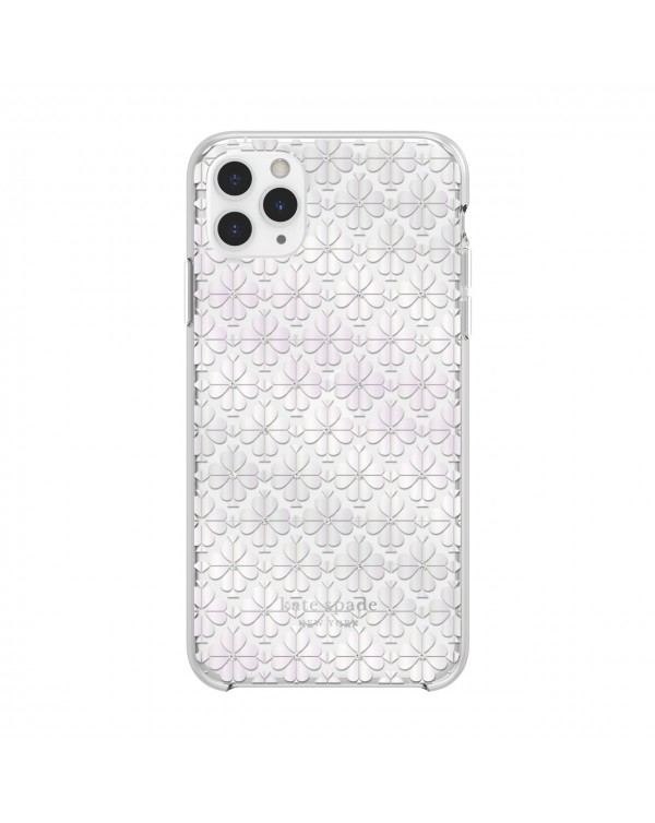 Kate Spade - Protective Hardshell Case Spade Flower Pearl for iPhone 11 Pro Max