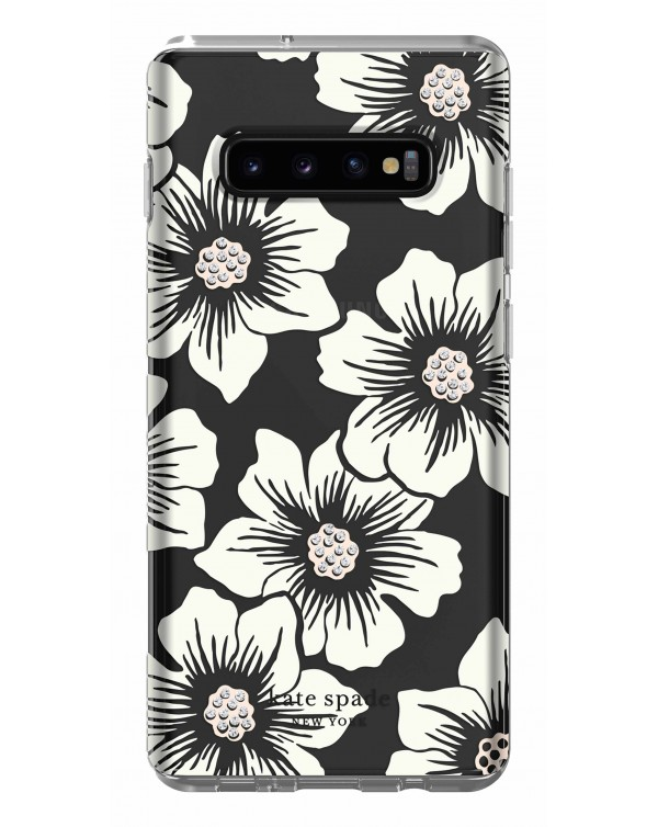 Kate Spade - Protective Hardshell Case Hollyhock Floral for Samsung Galaxy S10+