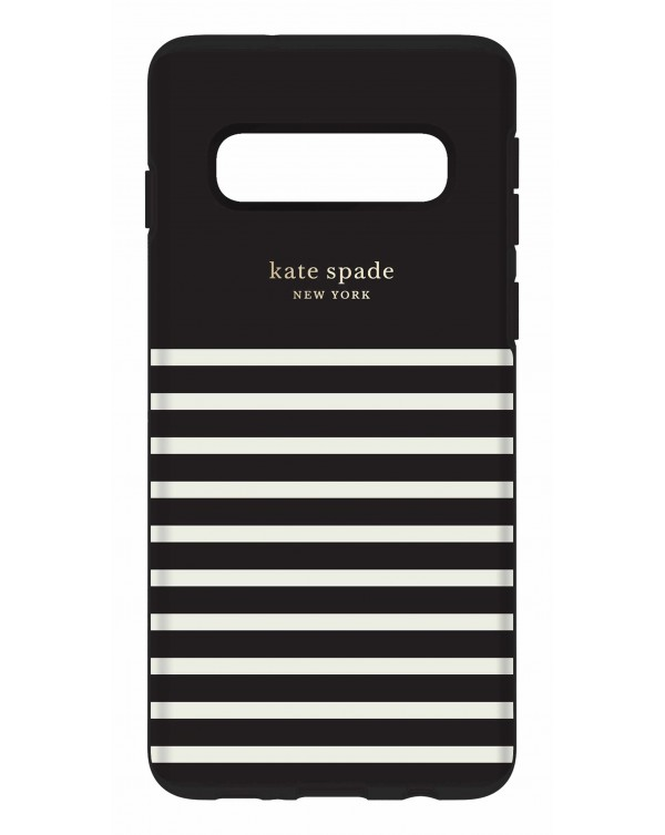 Kate Spade - Protective Hardshell Case Feeder Stripe for Samsung Galaxy S10
