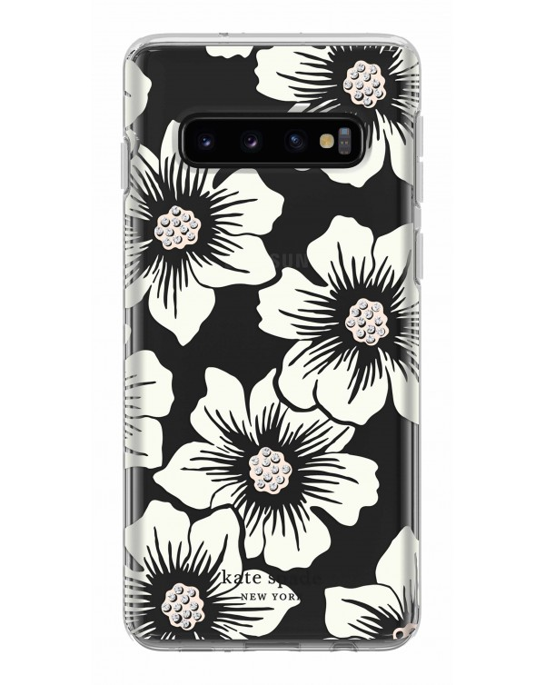 Kate Spade - Protective Hardshell Case Hollyhock Floral for Samsung Galaxy S10