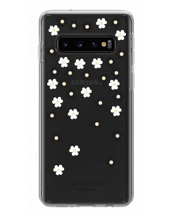 Kate Spade - Protective Hardshell Case Scattered Flowers for Samsung Galaxy S10