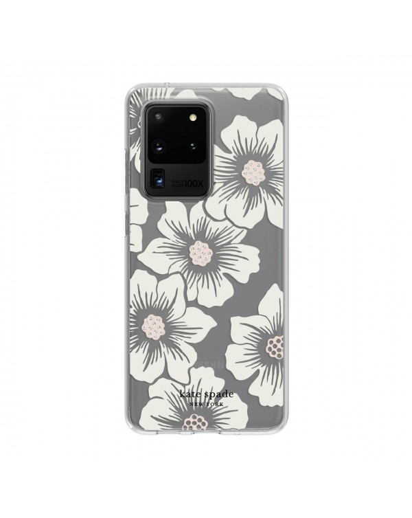 Kate Spade - Protective Hardshell Case Hollyhock Floral for Samusung Samsung Galaxy S20 Ultra