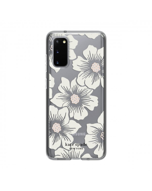 Kate Spade - Protective Hardshell Case Hollyhock Floral for Samusung Samsung Galaxy S20