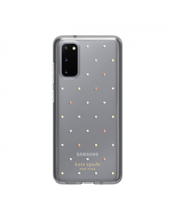 Kate Spade - Protective Hardshell Case Pin Dot Clear for Samsung Galaxy S20