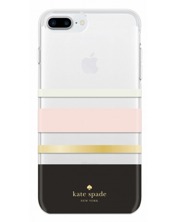 Kate Spade - Protective Hardshell Case Charlotte Stripe for iPhone 8+/7+/6S+/6+