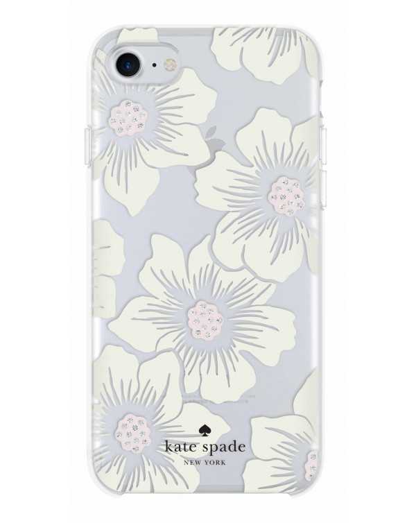 Kate Spade - Protective Hardshell Case Hollyhock Floral for iPhone 8/7/6S/6