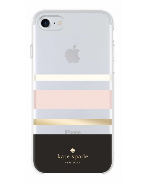 Kate Spade - Protective Hardshell Case Charlotte Stripe for iPhone 8/7/6S/6