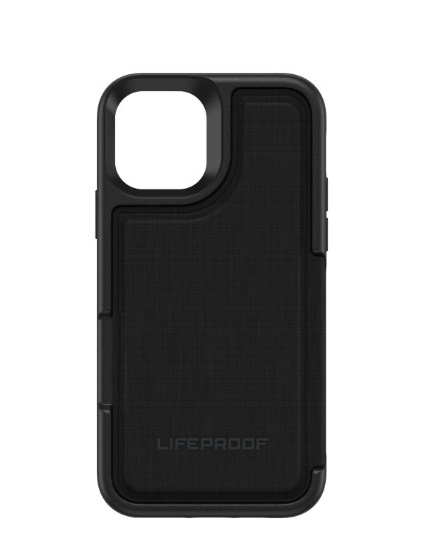 LifeProof - Flip Dropprotective Wallet Case Dark Night (Black/Castlerock) for iPhone 11 Pro