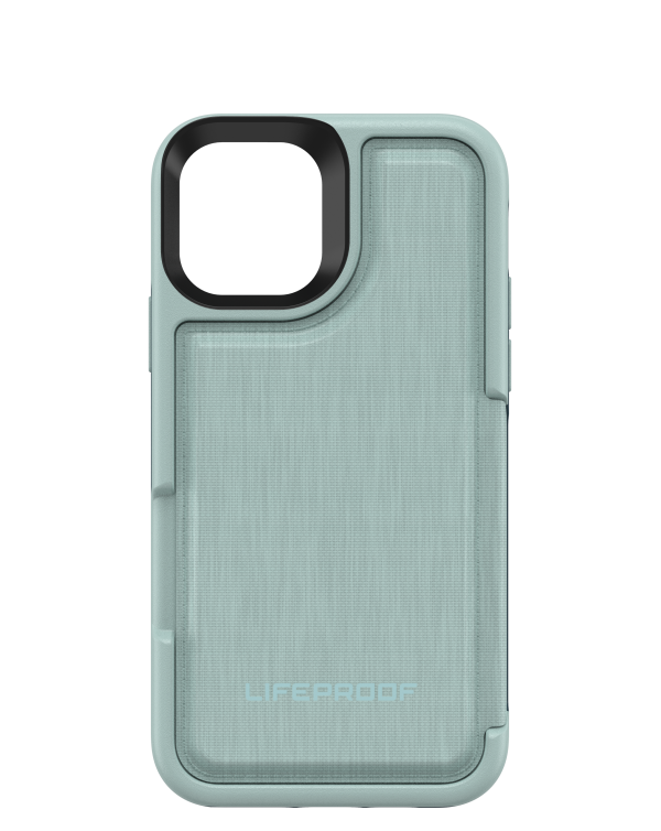 LifeProof - Flip Dropprotective Wallet Case Water Lily (Surf Spray/Dark Jade) for iPhone 11 Pro