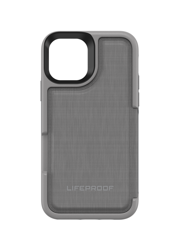 LifeProof - Flip Dropprotective Wallet Case Cement Surfer (Wet Weather/Gray) for iPhone 11 Pro
