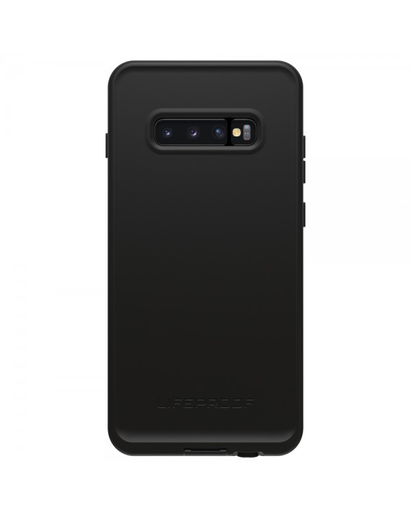 LifeProof - Fre Waterproof Case Asphalt (Black/Gray) for Samsung Galaxy S10+