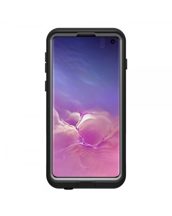 LifeProof - Fre Waterproof Case Asphalt (Black/Gray) for Samsung Galaxy S10