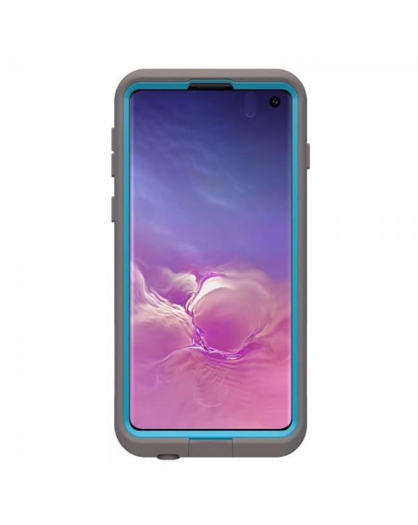 LifeProof - Fre Waterproof Case Body Surf (Grey/Ocean Blue) for Samsung Galaxy S10