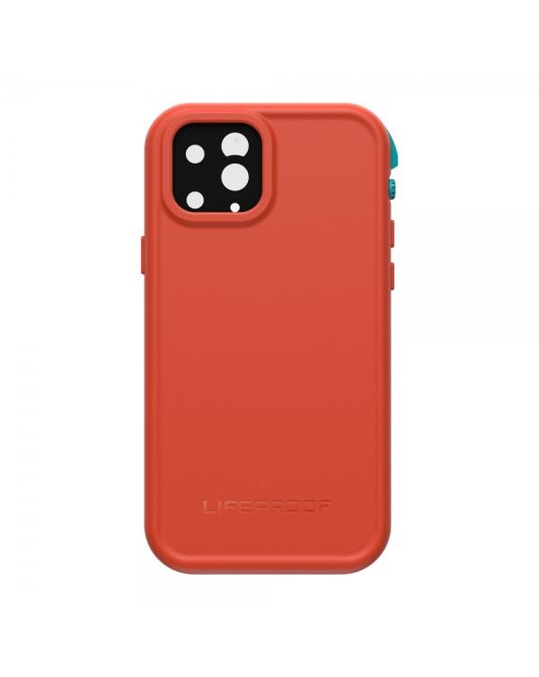 LifeProof - Fre Waterproof Case Fire Sky (Bluebird/Tangerine) for iPhone 11