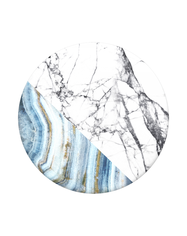 PopSockets - PopGrip (complete swappable PopGrip) Aegean Marble