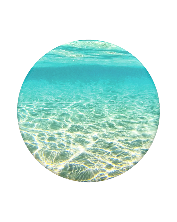 PopSockets - PopGrip (complete swappable PopGrip) Blue Lagoon