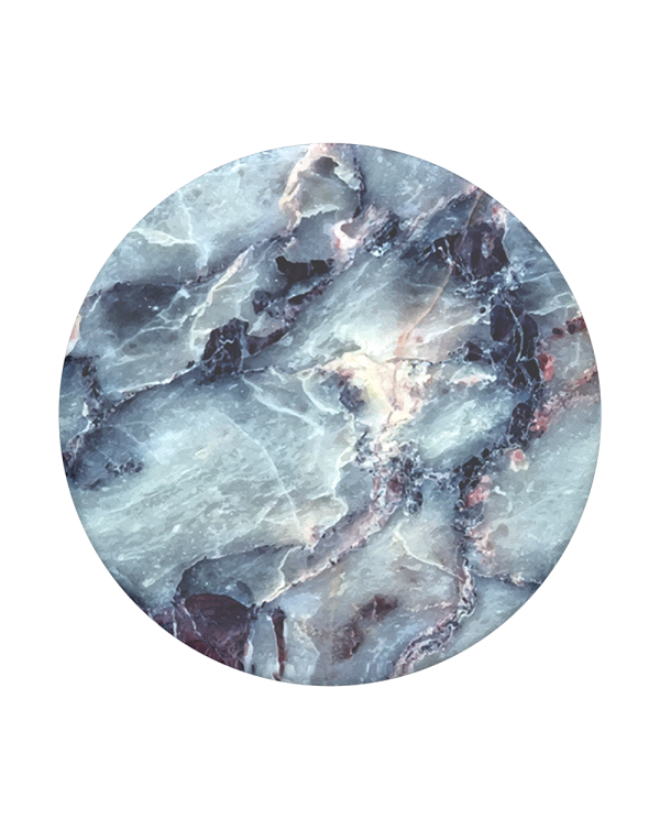 PopSockets - PopGrip (complete swappable PopGrip) Blue Marble