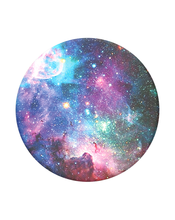 PopSockets - PopGrip (complete swappable PopGrip) Blue Nebula