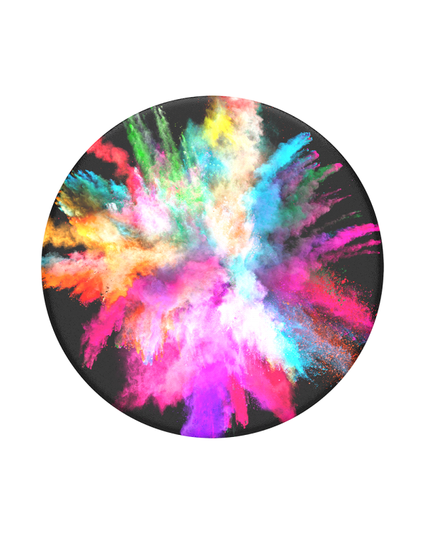 PopSockets - PopGrip (complete swappable PopGrip) Color Burst Gloss