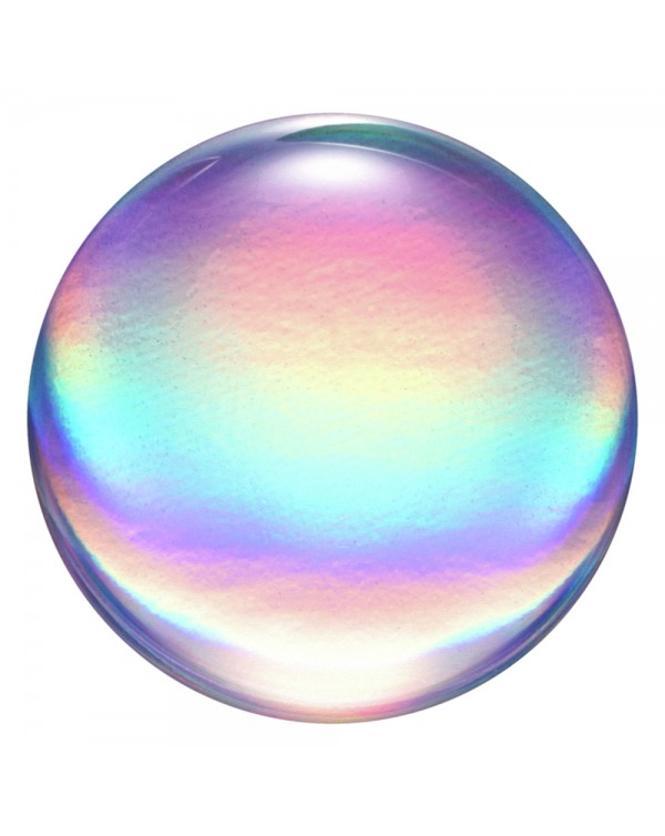 PopSockets - PopGrip (complete swappable PopGrip) Rainbow Orb Gloss