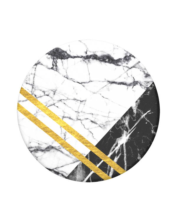 PopSockets - PopTop (swappable top only) Art Deco Marble