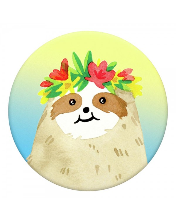 PopSockets - PopGrip (complete swappable PopGrip) Aloha Sloth Gradient