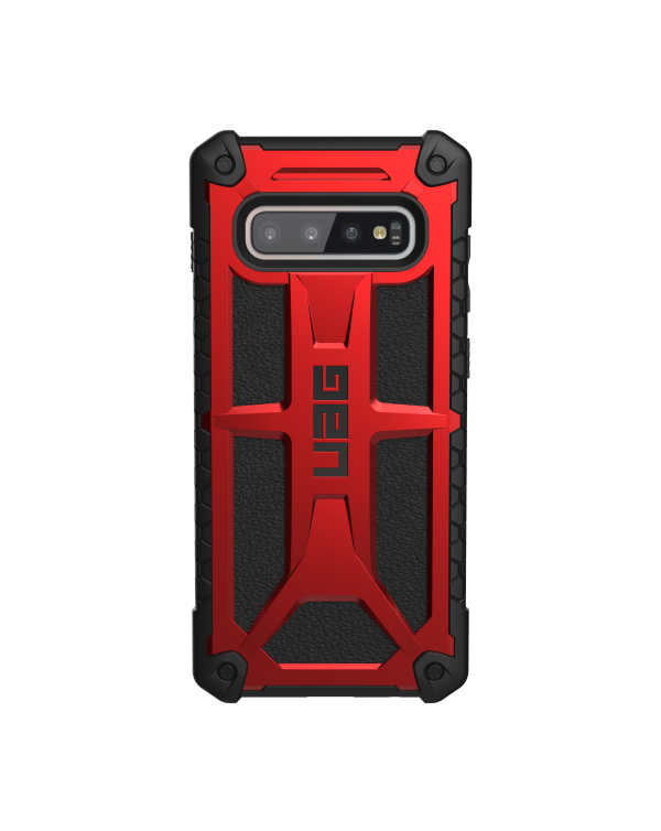 UAG - Monarch Rugged Case Crimson (Red) for Samsung Galaxy S10