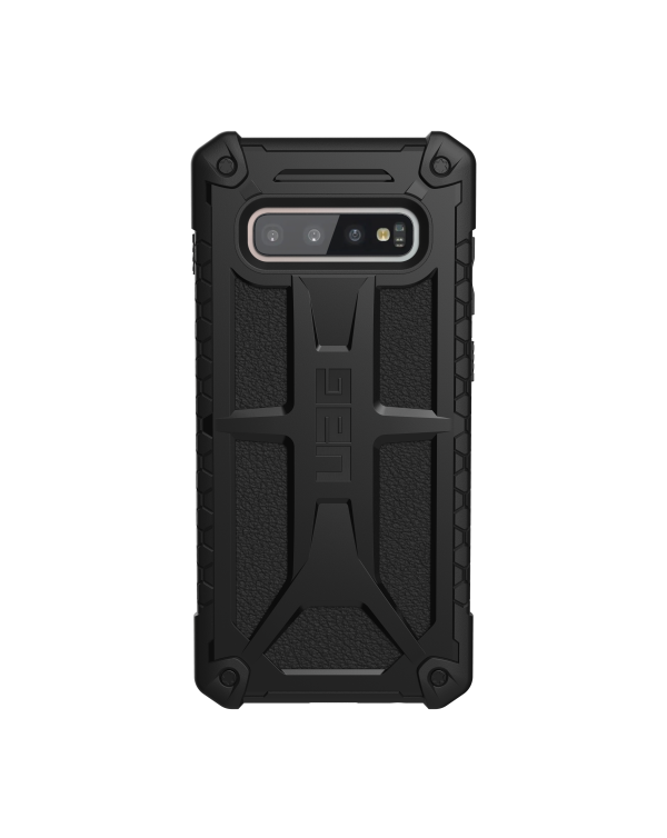 UAG - Monarch Rugged Case Black (Matte) for Samsung Galaxy S10