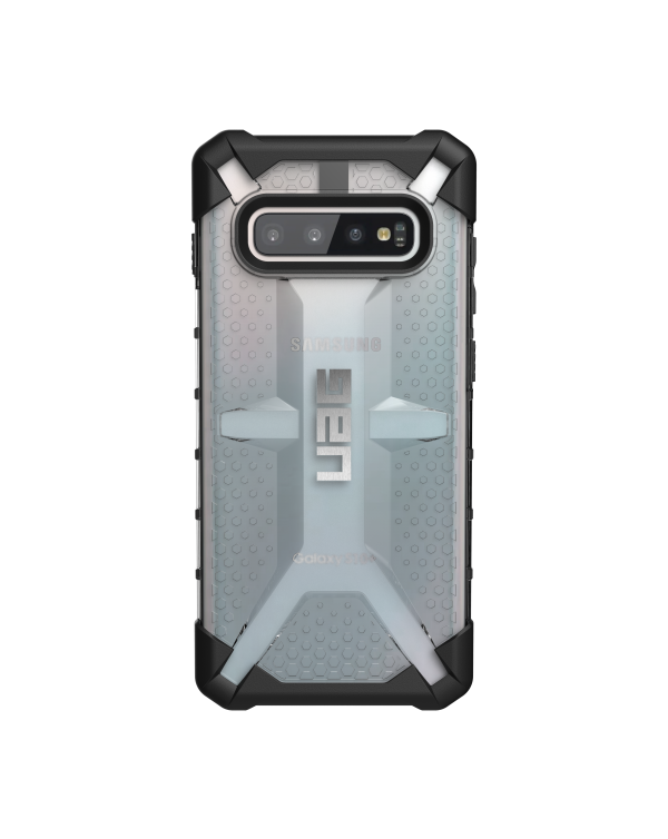UAG - Plasma Rugged Case Ice (Clear) for Samsung Galaxy S10