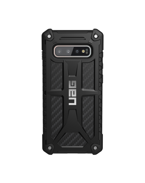 UAG - Monarch Rugged Case Carbon Fiber for Samsung Galaxy S10