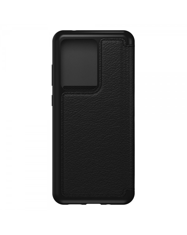 Otterbox - Strada Folio Case Shadow (Blacki/Pewter) for Samsung Galaxy S20 Ultra