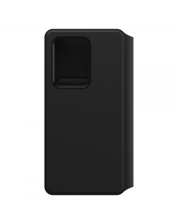 Otterbox - Strada Via PU Leather Folio Black Night for Samsung Galaxy S20 Ultra