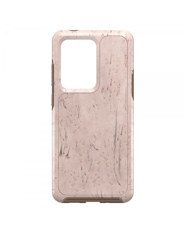Otterbox - Symmetry Clear Protective Case Set In Stone (Stone Red/Rose Gold) for Samsung Galaxy S20 Ultra